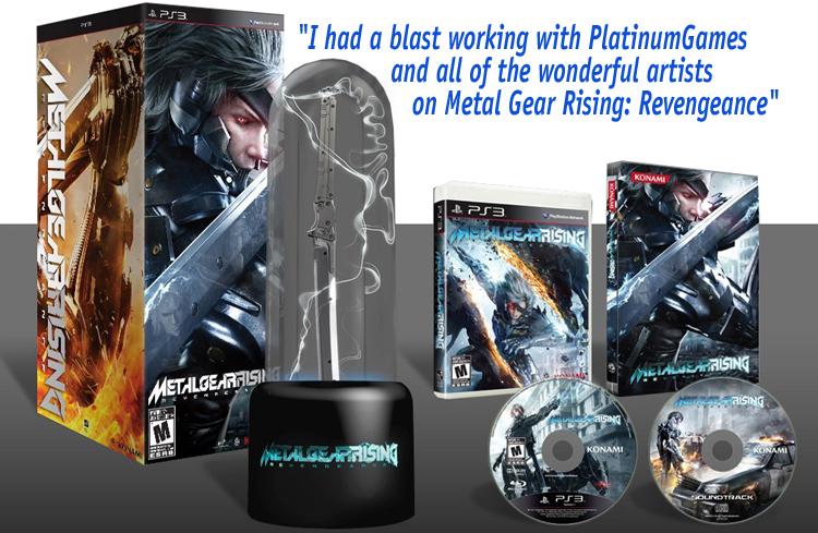 Музыку Metal Gear Rising Revengeance